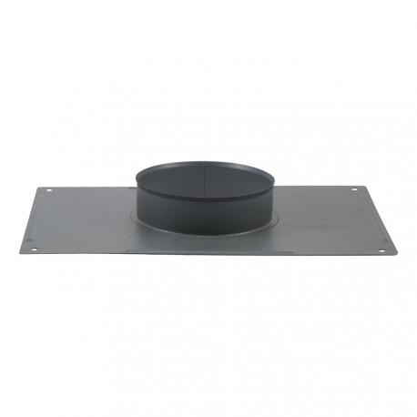 Plaque plafond émail gris anthracite