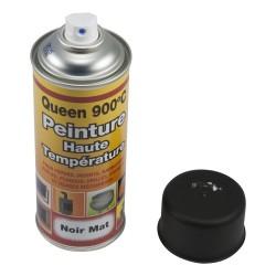 Bombe de peinture haute température noir mat