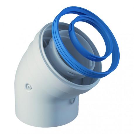 Coude mono-tube condensation
