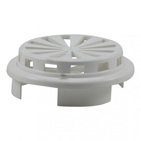 Grille de ventilation PVC carré