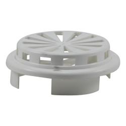Grille de ventilation PVC ronde