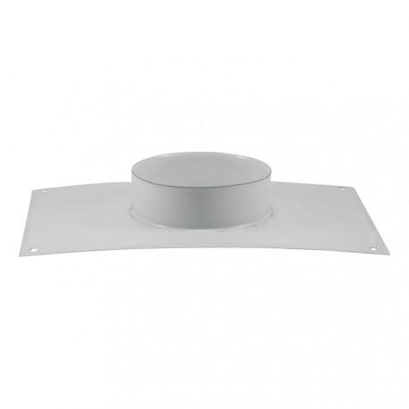 Plaque plafond émail blanc
