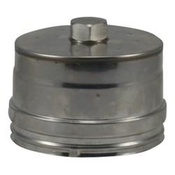Tampon inox 316 concentrique