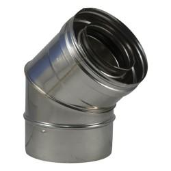 Coude à secteurs inox 316 concentrique