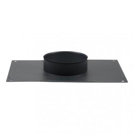 Plaque plafond émail gris fonte