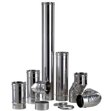 Conduit inox simple paroi